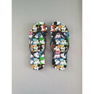 Mickey Mouse Flip flops SIZE 8 New DISNEY Store